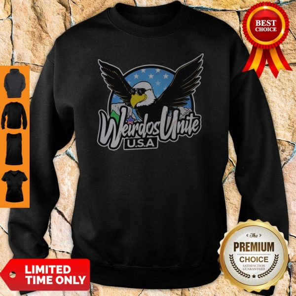 Official Eagles Weirdos Unite U.S.A Sweatshirt