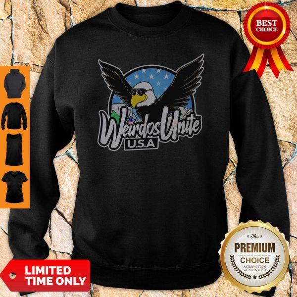 Official Eagles Weirdos Unite U.S.A Sweatshirt