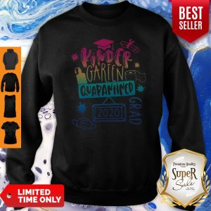 Cute Kinder Garten Grad Quarantined 2020 Sweatshirt