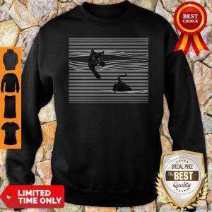 Official Black Cat Mug Sweatshirt