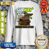 Baby Yoda Mask Subway Survived COVID-19 2020 Sweatshirt