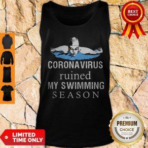 Diving Coronavirus Ruined My Swimming Season Tank Top