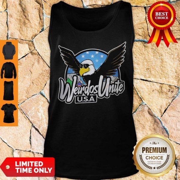 Official Eagles Weirdos Unite U.S.A Tank Top