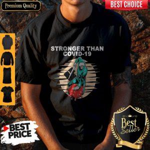 Top Baseball Stronger Than COVID-19 Kill The Virus Shirt