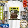 Baby Yoda Mask Dollar General Survived COVID-19 2020 V-neck