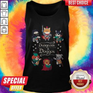 Awesome Dungeons And Doggos Tank Top