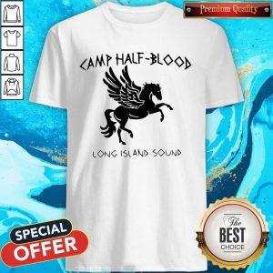 Awesome Horse Camp Half Blood Long Island Sound Shirt