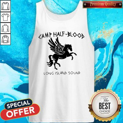 Awesome Horse Camp Half Blood Long Island Sound Tank Top