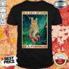 Cute Cat In A Sea Of Fish Be A Purrmaid Shirt