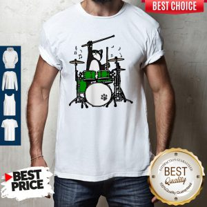 Cute Cat Playing Drums Shirt