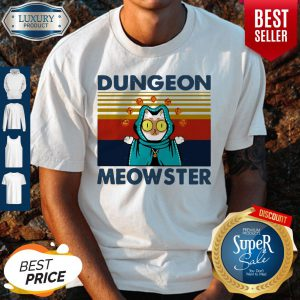 Cute Dungeon Meowster Vintage Shirt