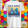 Cute Two Birds One Stoned Vintage Shirt