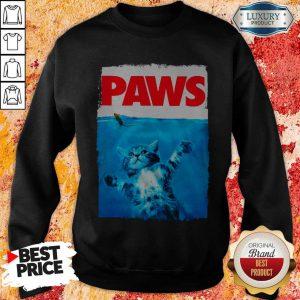 Funny Cat Paws Sweatshirt