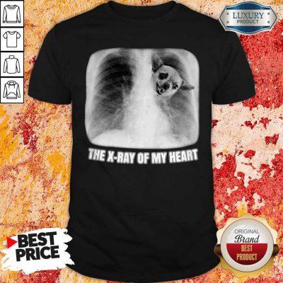 Funny Chihuahua The X-ray My Heart Shirt