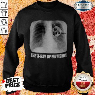 Funny Chihuahua The X-ray My Heart Sweatshirt