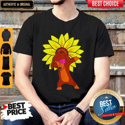 Funny Dachshund Sun Flower Shirt