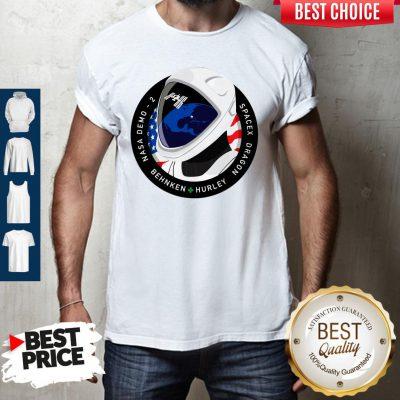Funny Nasa Demo 2 Behnken Hurley Dragon SpaceX Shirt