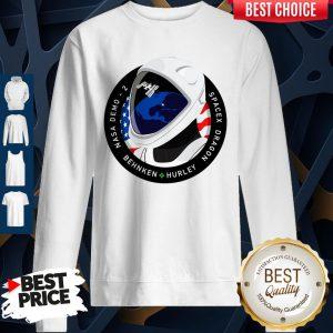 Funny Nasa Demo 2 Behnken Hurley Dragon SpaceX Sweatshirt