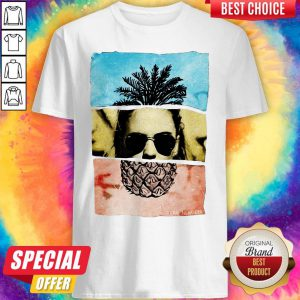 Funny Pineapple Face Shirt