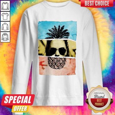 Funny Pineapple Face Sweatshirt