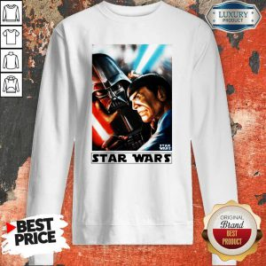 Funny Star Wars Meets Star Trek Sweatshirt