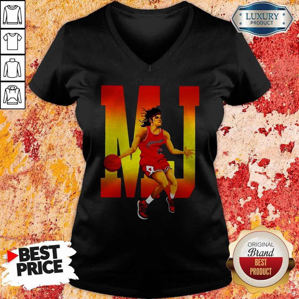Good Michael Jordan Mj 23 Chicago V-neck