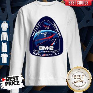 Hurley Behnken DM-2 First Crewed Flight Nasa SpaceX Sweatshirt
