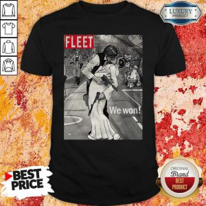 Nice Fleet We Won Han And Leia Shirt