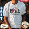 Official Love My Lineman America Shirt