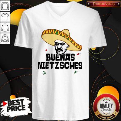Official Mexican Friedrich Buenas Nietzsche V-neck