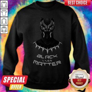 Premium Black Panther Black Lives Matter Sweatshirt