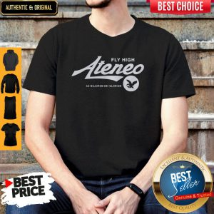 Premium Fly High Ateneo Shirt