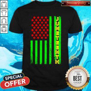 Premium Juneteenth America Flag Shirt