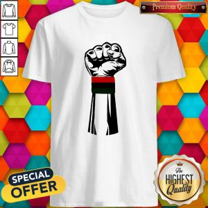 Pretty Black Power Fist Shirt