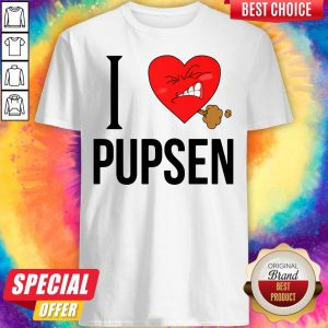 Top I Love Pusen Shirt