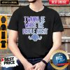 Top I Wanna Be Where The People Aren't Shirt