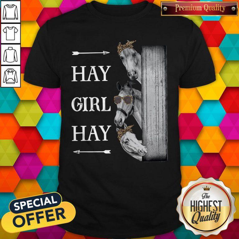 Awesome Horse Hay Girl Hay Shirt