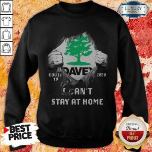 Blood Inside Me Davey Covid-19 2020 I Can't Stay At Home Sweatshirt