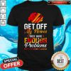 Brain Get Off My Nerves They Have Enough Problems Multiple Sclerosis Awareness Shirt