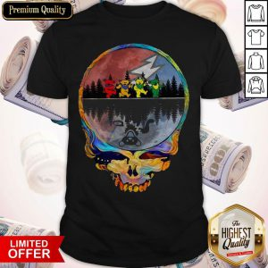 Colorful Skull Grateful Dead Shirt