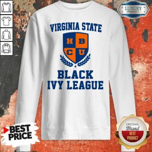 Good Virginia State Black Ivy League Sweatshirt