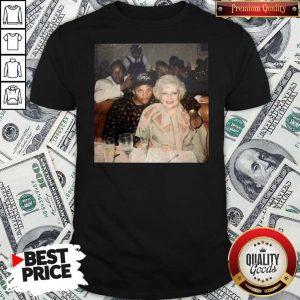 Nice Dr. Dre Eazy-e And Betty White Official Shirt