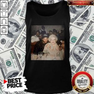 Nice Dr. Dre Eazy-e And Betty White Official Tank Top