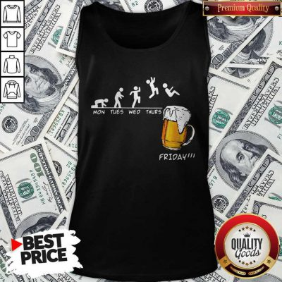 Official Mons Tues Wed Thurs Friday Beer Tank Top