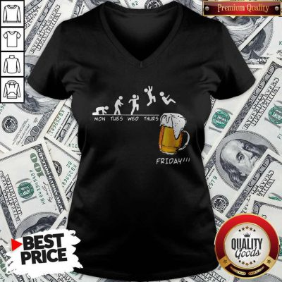 Official Mons Tues Wed Thurs Friday Beer V-neck