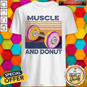 Official Muscle And Donut Vintage Shirt