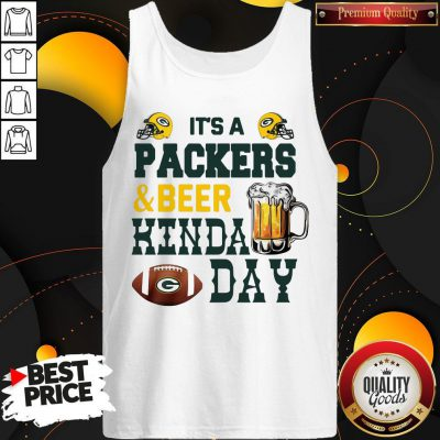 Premium It's A Packers And Beer Kinda Day Tank Top