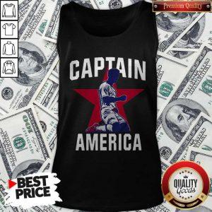 USA Men's & English Soccer 2020 Captain America Tank Top