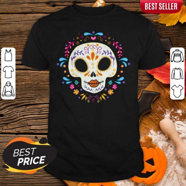 Sugar Skull Day Of The Dead Shirt