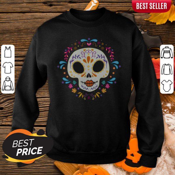 Sugar Skull Day Of The Dead Sweatshirt